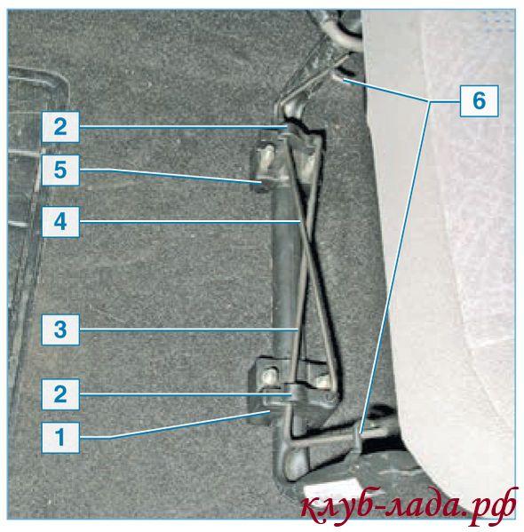 Установка торсионов передних сидений Приоры