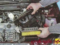 Замена воздушного фильтра на Приоре/Калине1-2/Гранте