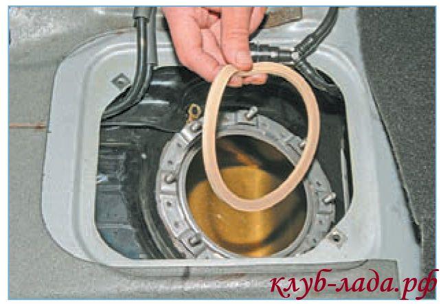 уплотнительное кольцо бензонасоса приоры