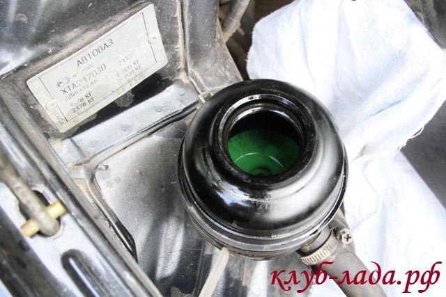 масло в ГУР приоры