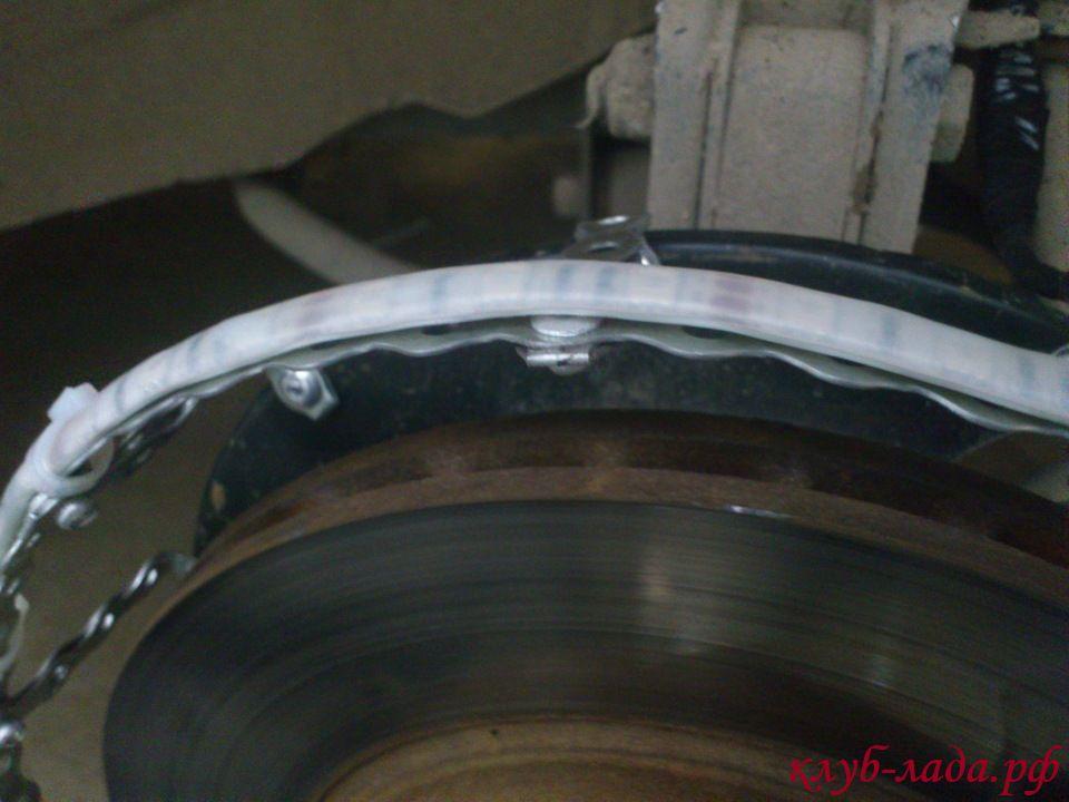 установка подсветки дисков