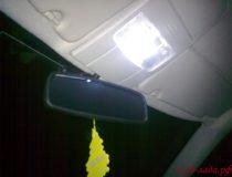 Доработка плафона освещения салона Приоры