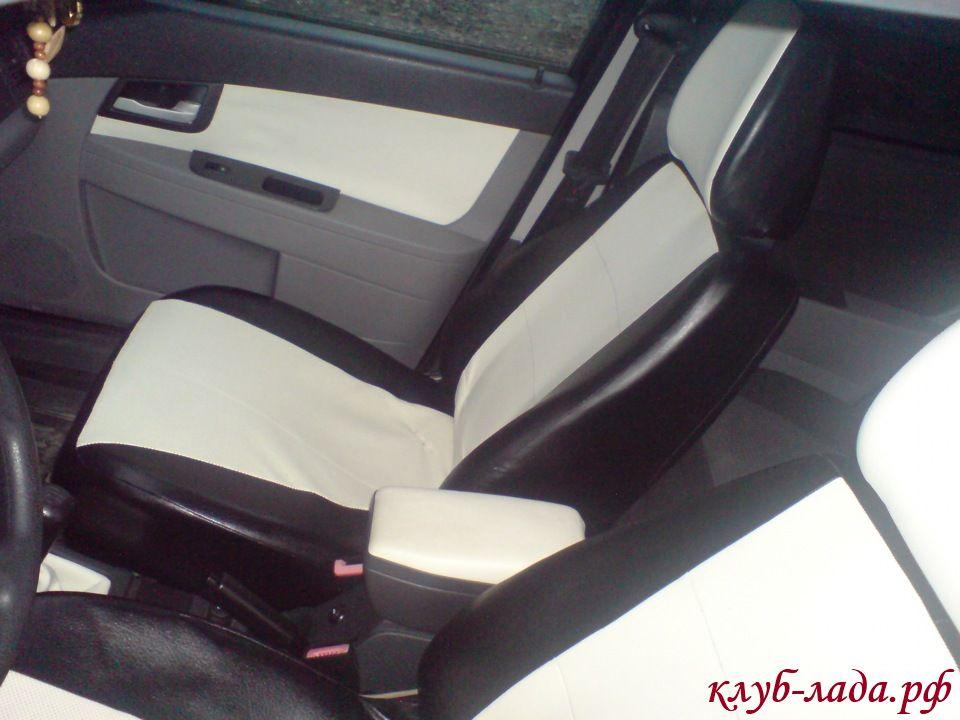 Модельные чехлы для автомобиля Приора