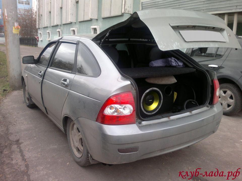 Про газовые упоры багажника Приора хэтчбек и универсал