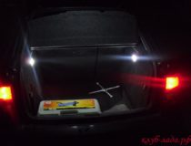 Доработка освещения багажника Лада Приора универсал/хэтчбек
