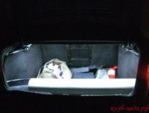 Подсветка багажника Приоры Седан