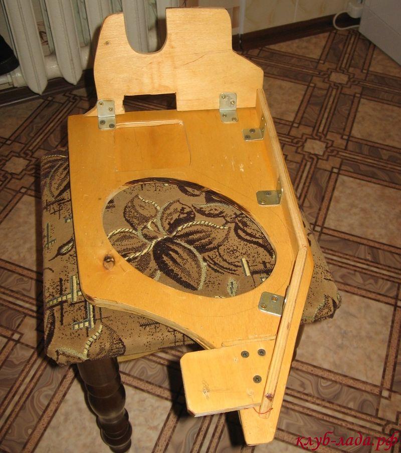 боковины багажника из фанеры