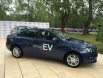 Электромобиль Lada Vesta EV представлен АвтоВАЗом