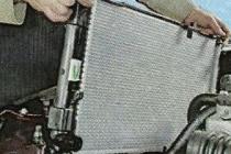 Как снять радиатор охлаждения Калины/Гранты