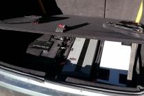 Полки в багажнике своими руками