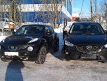 Mazda CX-5 VS Nissan Juke (фото сравнение)