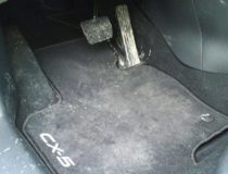 Коврики Мазда CX-5, резиновые вместо штатных
