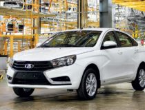 Начало продаж и производства Lada Vesta