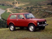 Lada 4×4 отметила юбилей 40-летний юбилей.