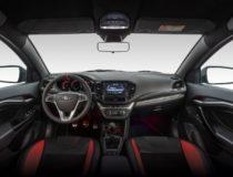 Компания АвтоВАЗ показала салон автомобиля Lada Vesta Sport