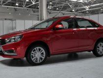 Произведено свыше 4000 тыс. единиц Lada Vesta