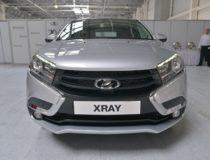 Начало продаж и производства Lada XRAY